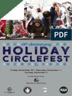 Holiday Circle Fest 2018 Full Program