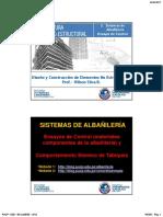 2. Sistemas de Albañilería. Ensayos de Control