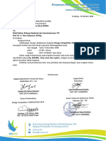 Surat Pengantar Pengajuan Dana IKOMA