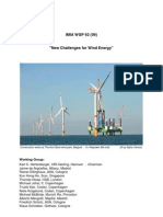 New Challenges for Wind Energy