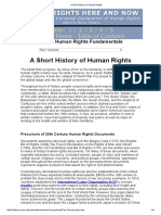 A Short History of Human Rights