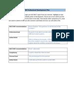 pdp proffesional development plan