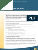 IAS 33 Fact Sheet