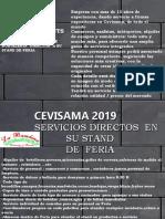 Cevisama 2019 catering La Bambina  tarifas