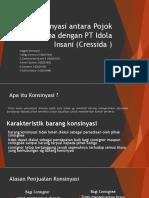 Konsinyasi Pojok Busana dengan PT Idola Insani.pptx