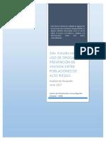 2do Estudio Sobre Uso de Drogas y Prevención de VIH Sida Entre Poblaciones de Alto Riesgo