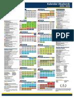 Kalender Akademik Uad 2018-20193