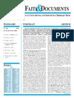 Lettre F&D N°105