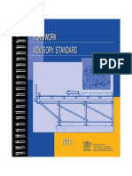 Australia - Formwork Advisory Standard 1999