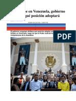 Ante Golpe en Venezuela