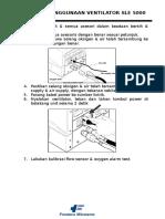 SOP Ventilator SLE 5000