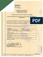 Circular 034-2018. Ampliación de Convocatoria Proyectos de Extensión