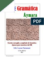 Gramática Aymara Completa