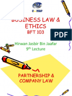 4.Lecture Partnership and Company Law