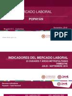 Presentación Popayán Jul - Sep 18