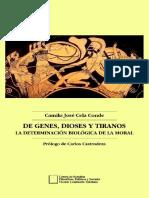 Cela Conde Camilo Jose - De Genes Dioses Y Tiranos