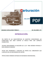 Carburación