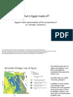 Egypt limestone distribution
