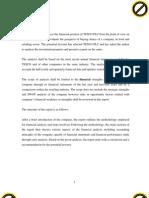 TESCO Financial Analysis