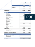 Income Statement (1)