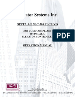 d21 1001 a01 Septa Ab Slc500 Plc Hydrualic Elevator Controller
