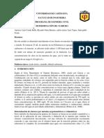 Informe de Determinación de Cloruros