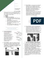 Resumo Exame Físico Ortopédico