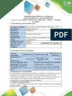 Guía de Actividades y Rúbrica de Evaluación - Paso 4 - Manejo de Lodos.