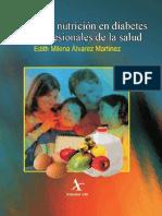 Manual de Nutricion en Diabetes Para Profesionales de La Salud