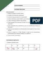 Ejercitación Qumica Unidad 1 UFASTA