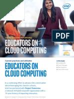 Education Educators on Cloud Computing eBook