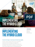 Education Implementing the Hybrid Cloud eBook