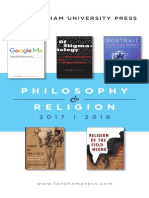 Philosophy & Religion 2018 Brochure