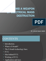 The E Bomb-A Weapon of Electrical Mass Destruction