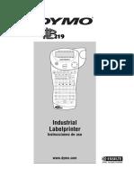 Manual de Instrucciones Dymo