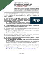Jorge Lucas - Historia Municipio Ararangua