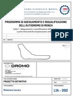 L1A_D02 Relazione Tecnica Modifiche Tracciato.