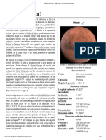 Marte (Planeta) 12 EDICION