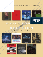 Philosophy & Religion 2017 Brochure