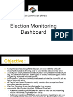 Election monitoring