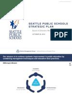 Presentation Strategic Plan 2018 to Seattle School Board
