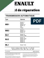 Руководство по ремонту АКПП MB3 (MB3 gearbox manual)