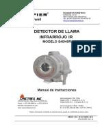 Sistema de Detectores Infrarojos.