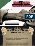 MALTRATO PSICOLOGICO