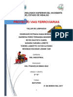 Proyecto vias ferroviarias.
