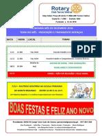 Programa Mês de Dezembro 2018