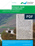 Landuse and Groundwater
