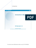 IBM introduction to big data