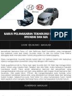 Kasus Pelanggaran Teknologi Hybrid Oleh Hyundai Dan Kia Ppt