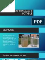 Aguas Tratadas y Potable